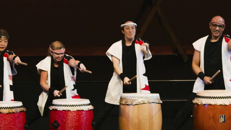 Oto-Wa TAIKO drummers
