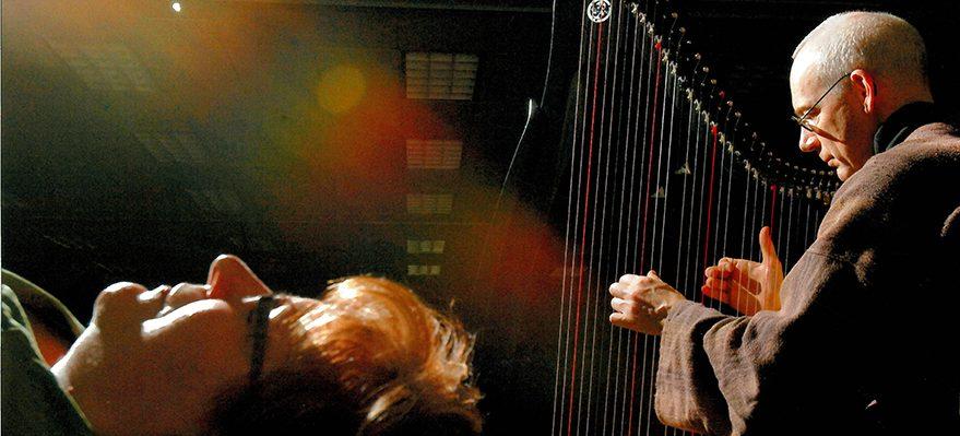 Harp and Singing Bowls!